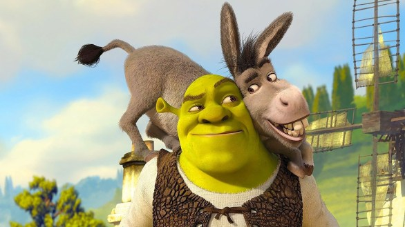 Donkey appeared in all four Shrek movies and was was an instant hit with fans