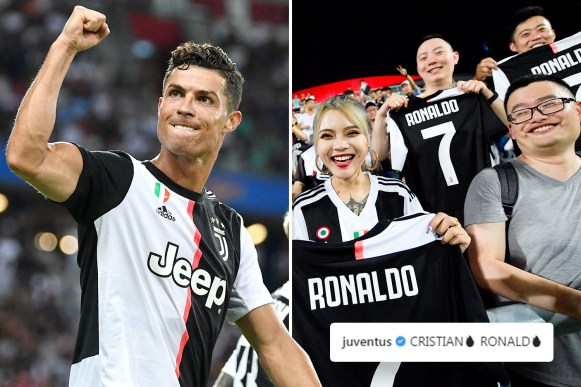 How Cristiano Ronaldo has transformed Juventus' brand with £51m revenue  boost and legion of 40m new fans
