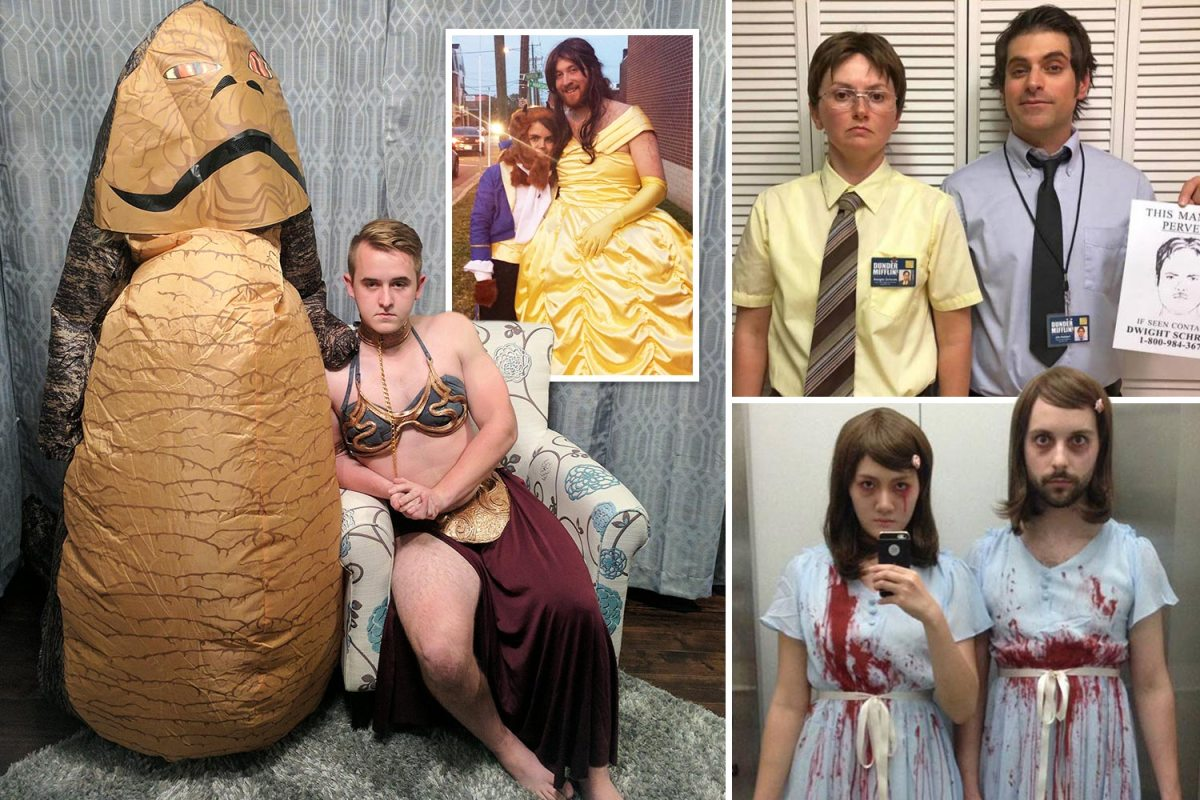 These Couples Win Halloween With Their Inventive His N