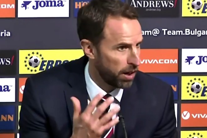 Gareth Southgate was reportedly told to f*** off at the end of an encounter marred by vile racism