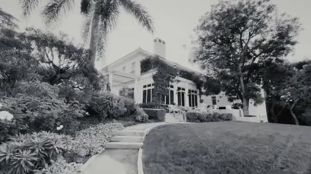 The Maleficent star's LA mansion