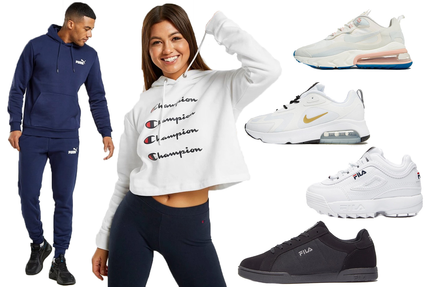 There was up to 50 per cent off sportswear brands like Nike and Adidas in JD Sports' 2019 Black Friday sale