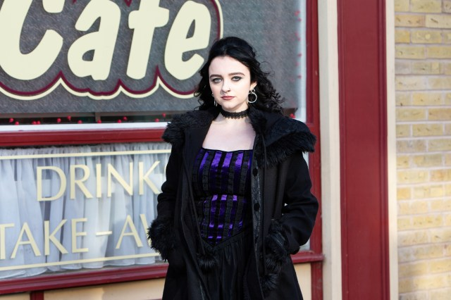 Nina is played by newcomer Mollie Gallagher