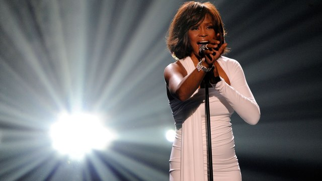 On tour, a large case carried Whitney's favourite foods — but there were also 'drugs all around'