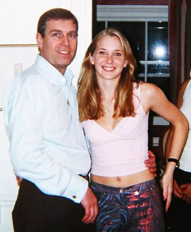 Prince Andrew was under fire over claims he bedded Virginia Roberts when she was 17
