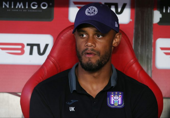 Anderlechtt player-boss Vincent Kompany has joined the Sky Sports' punditry team for his old club Man City's vital visit to Liverpool