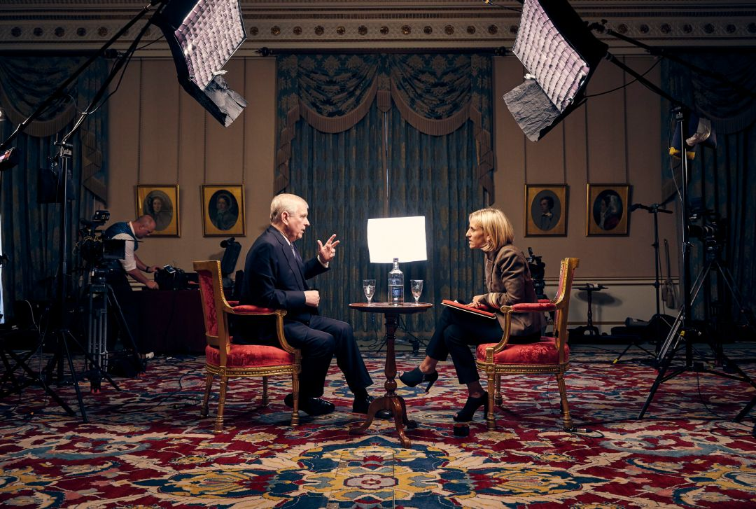 The interview will air on BBC Newsnight's Emily Maitlis