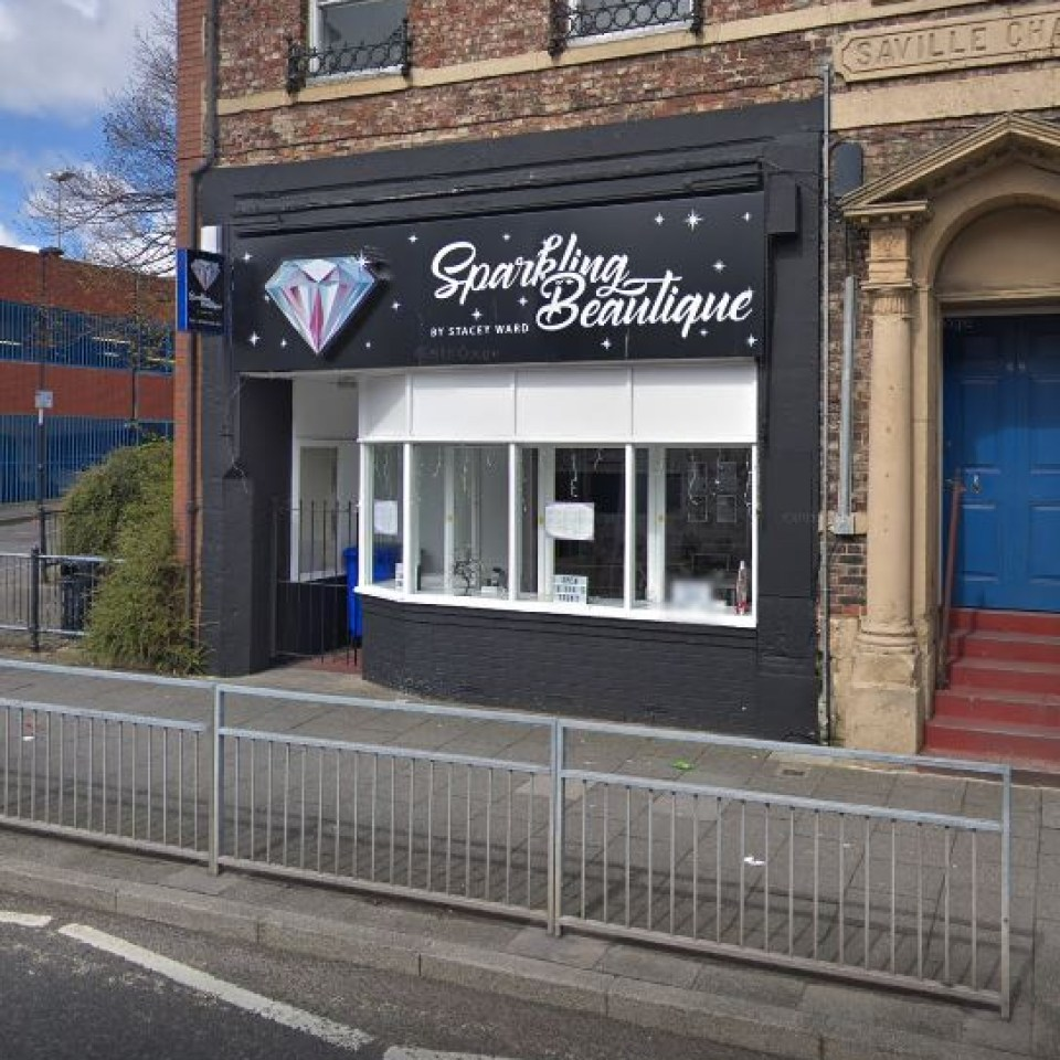 Stacey owns the Sparkling Beautique Salon & Training Academy in Newcastle-upon-Tyne