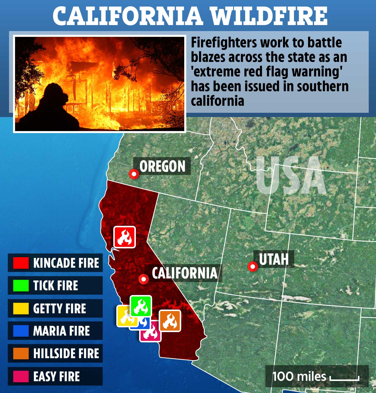 See current wildfires and wildfire perimeters in california on the fire, weather & avalanche center wildfire map. Where Are The California Fire Latest News On Map And Victims