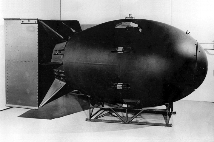 """A version of the """"Fat Man"""" bomb was created by the Soviets after the leaks"""