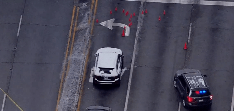 Police arrived at the scene to find the rapper's blood-soaked car