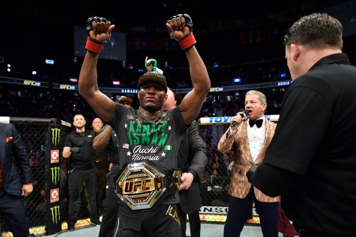 Kamaru Usman defeated rival Colby Covington at UFC 245
