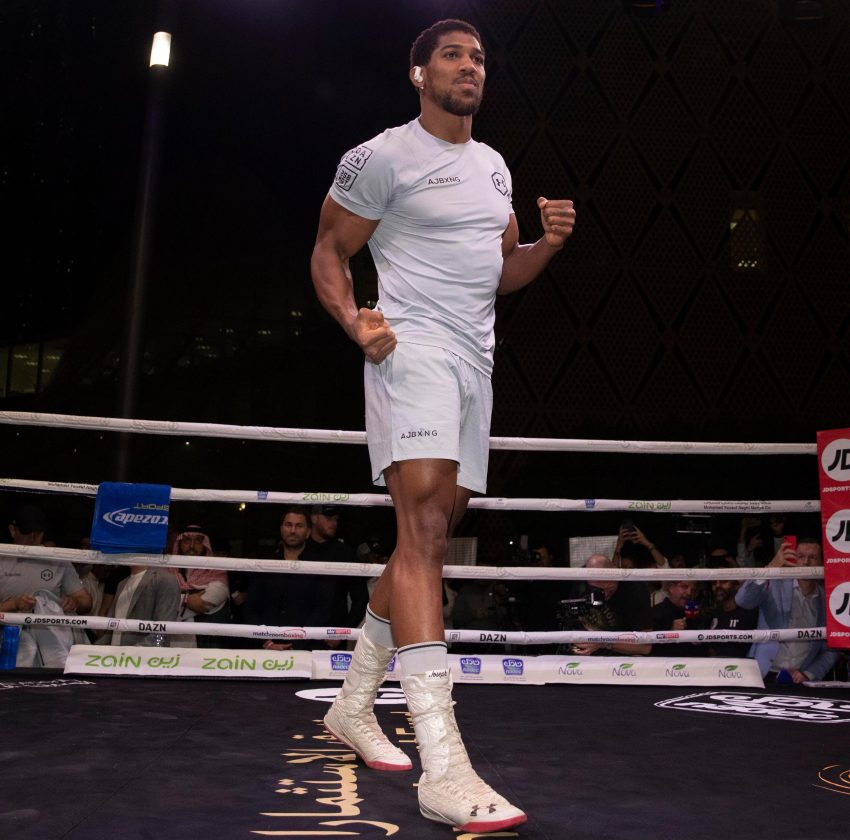 AJ was accused of being too concerned with a body-builder appearance, instead of his fight skills, after the shock MSG loss