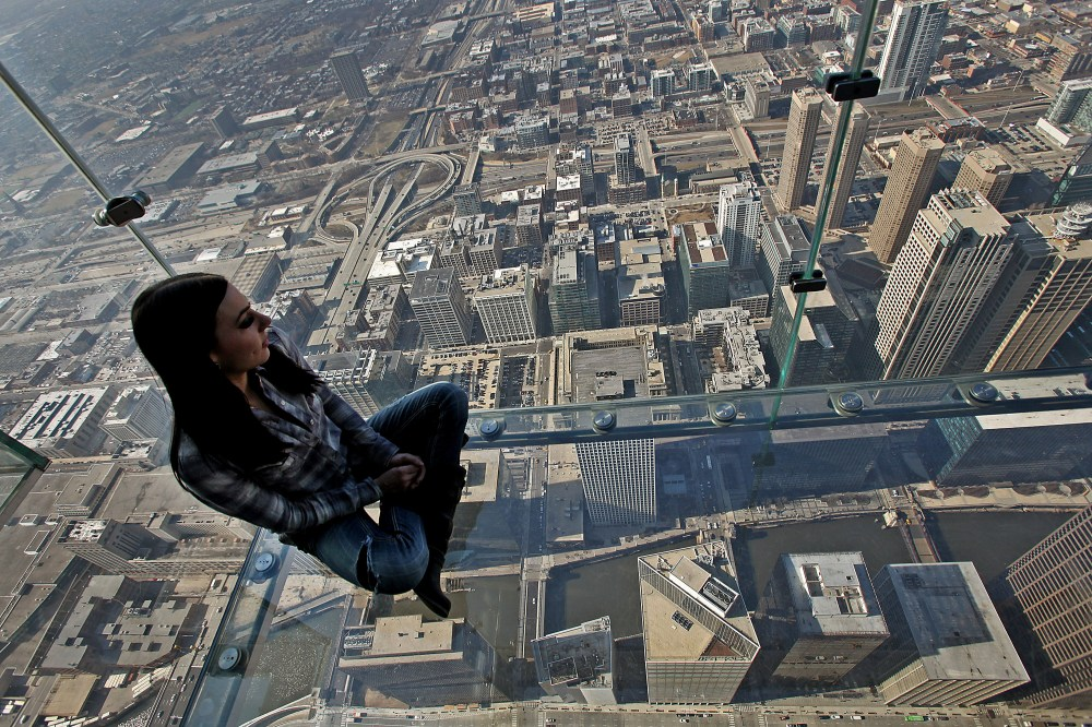 The Skydeck offers some of the best views of Chicago