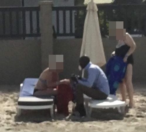 Older British women are famed for holidaying in The Gambia, where some pick up African gigolos
