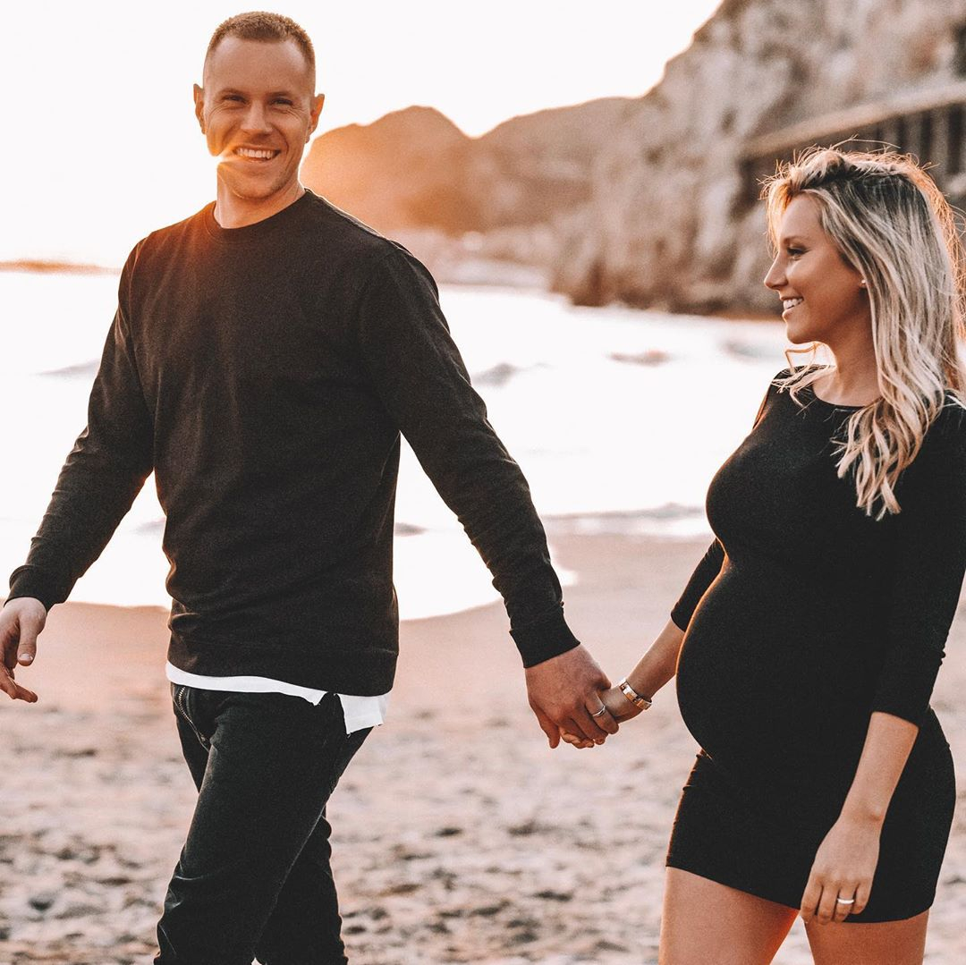 Barcelona star Marc-Andre ter Stegen delight as stunning wife gives birth  to their first son Ben