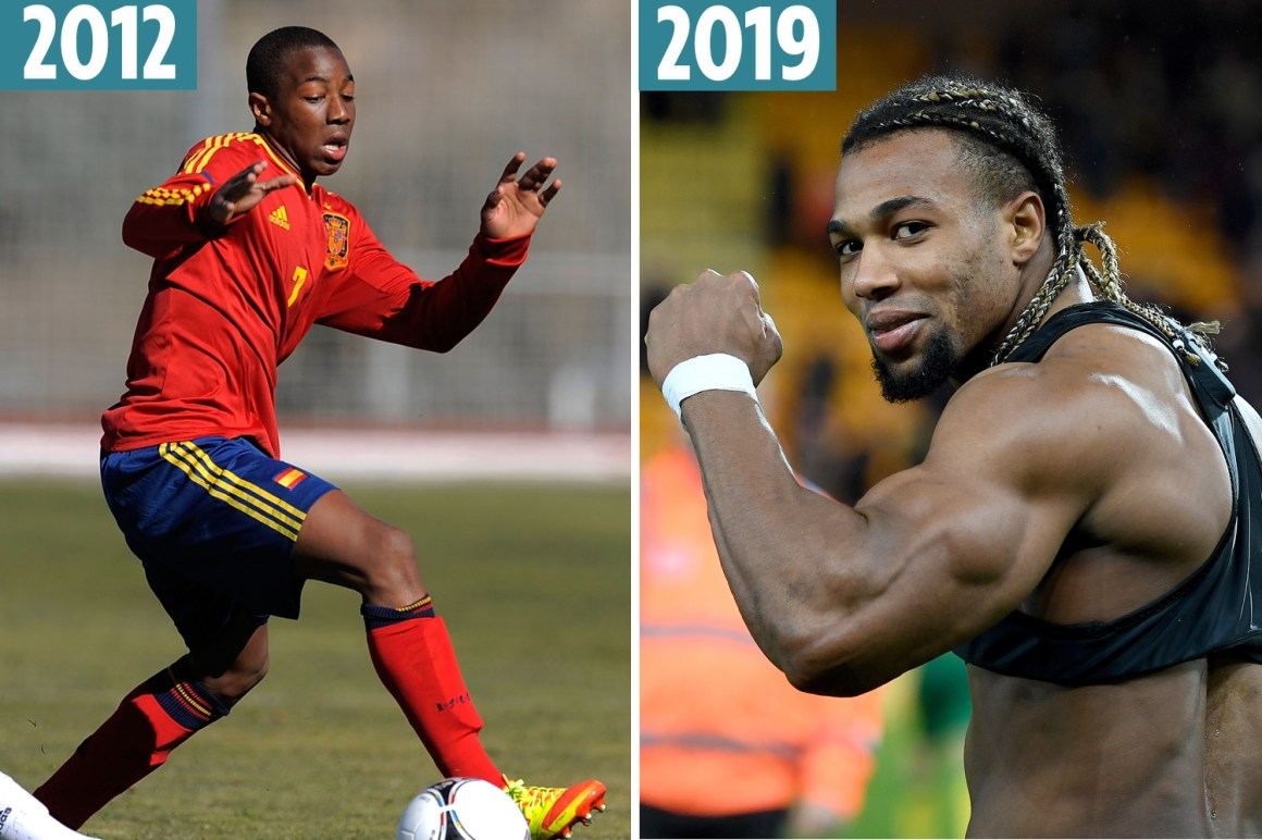 Adama Traore's incredible body transformation revealed from ...