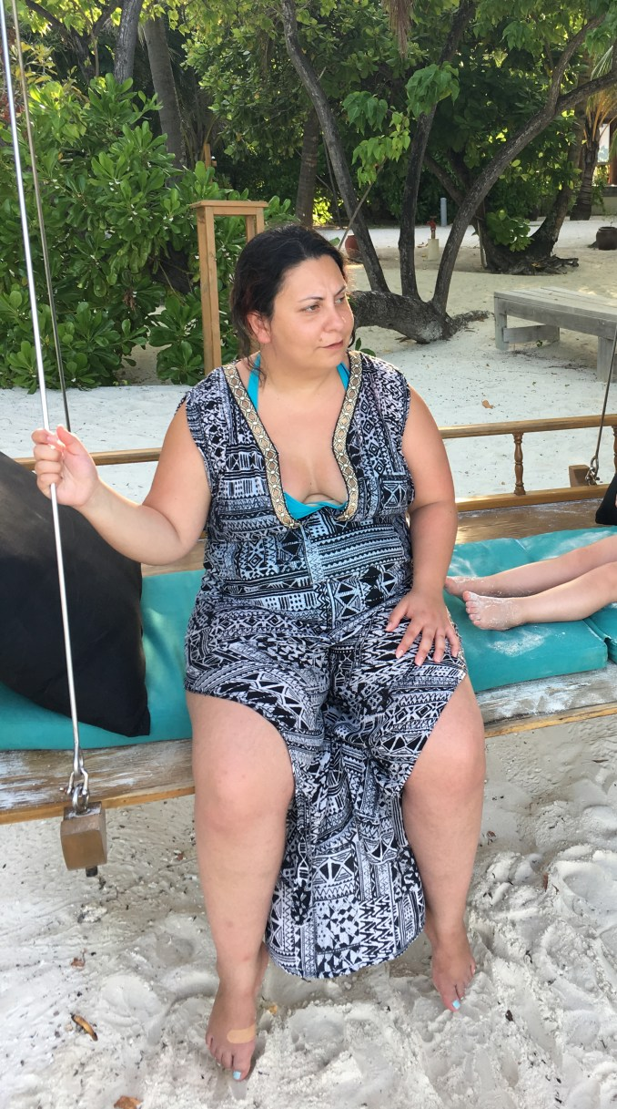 Suzie started putting on weight after suffering from post-natal depression