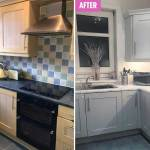 Mum Transforms Her Dated Boring Kitchen Into A Mrs Hinch