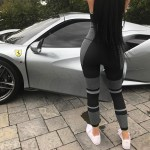Kylie Jenner Poses With Fleet Of 14 Luxury Cars Worth More Than 5 Million Including Vintage Rolls