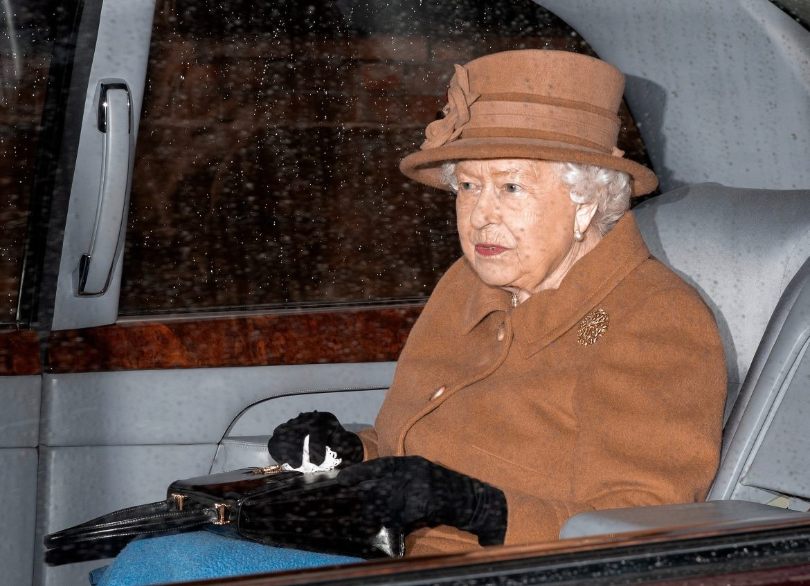 The Queen hosted unprecedented talks with Prince Harry on the Norfolk estate this afternoon