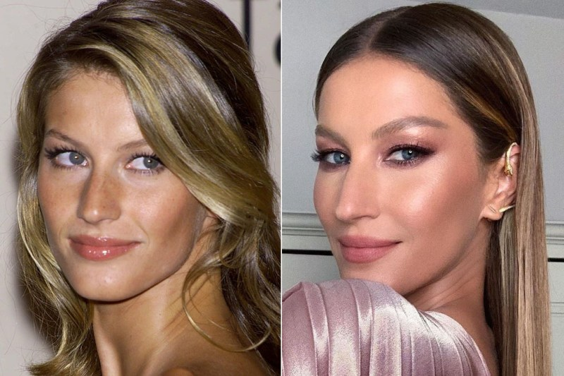 Catwalk queen Gisele Bundchen appears not to have aged