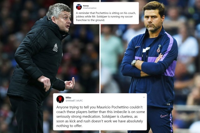 Man Utd fans call for Mauricio Pochettino as #OleOut trends after Solskjaer's side annihilated by Man City