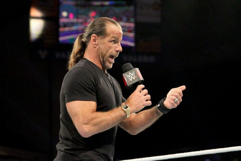 Shawn Michaels would have a place on Kurt Angle's Mount Rushmore