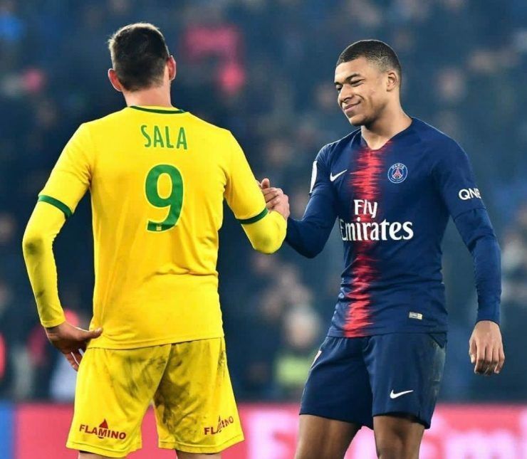 Last year Mbappe donated £26k to a GoFundMe appeal to continue the search for Emiliano Salas crashed plane