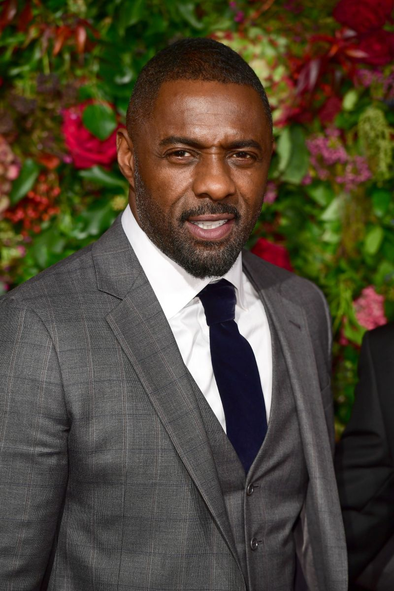 Idris Elba was voted People magazine's sexiest man alive in 2018