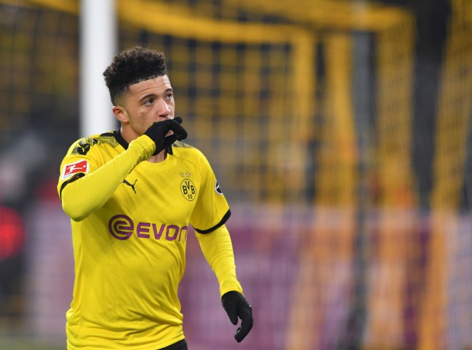 Sancho will leave Dortmund in the summer... with Manchester United at the front of the queue