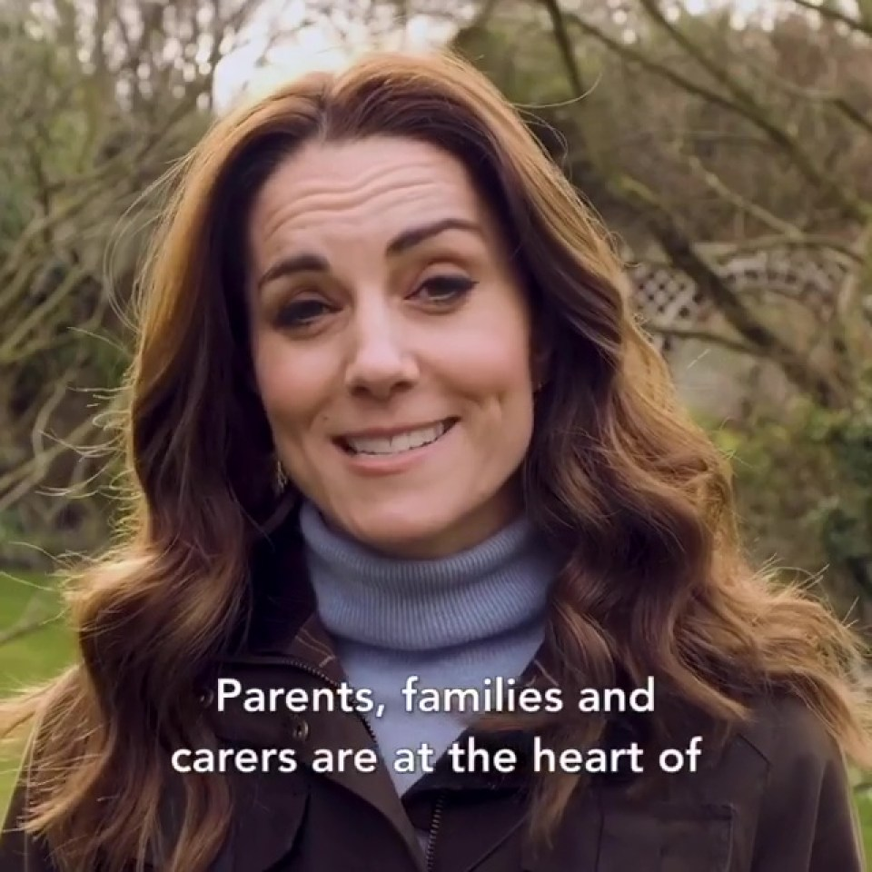 Kate Middleton posts video asking more parents to complete her kids survey and fans praise her 'growing confidence'