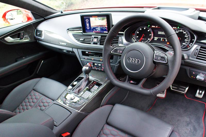 Like all Audis today, the interior is as elegant as it comes