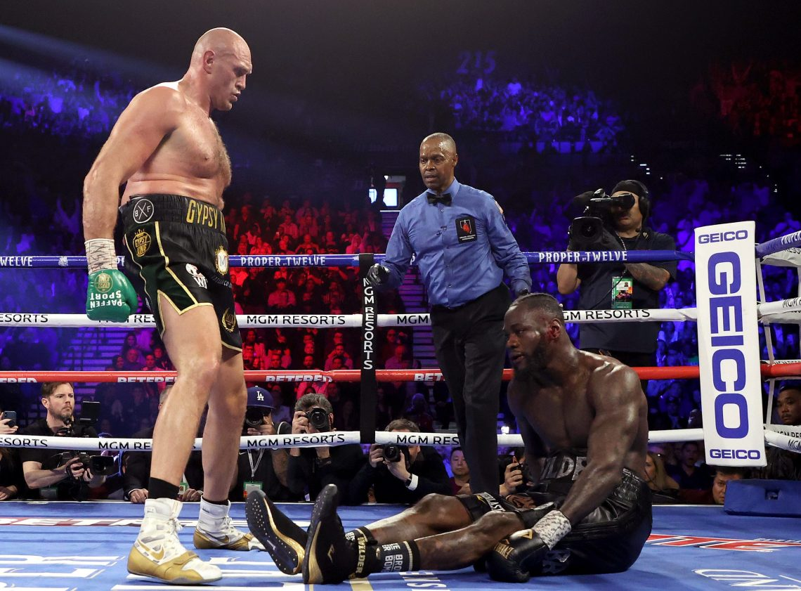 Tyson Fury put on the ultimate display of boxing on a sensational night
