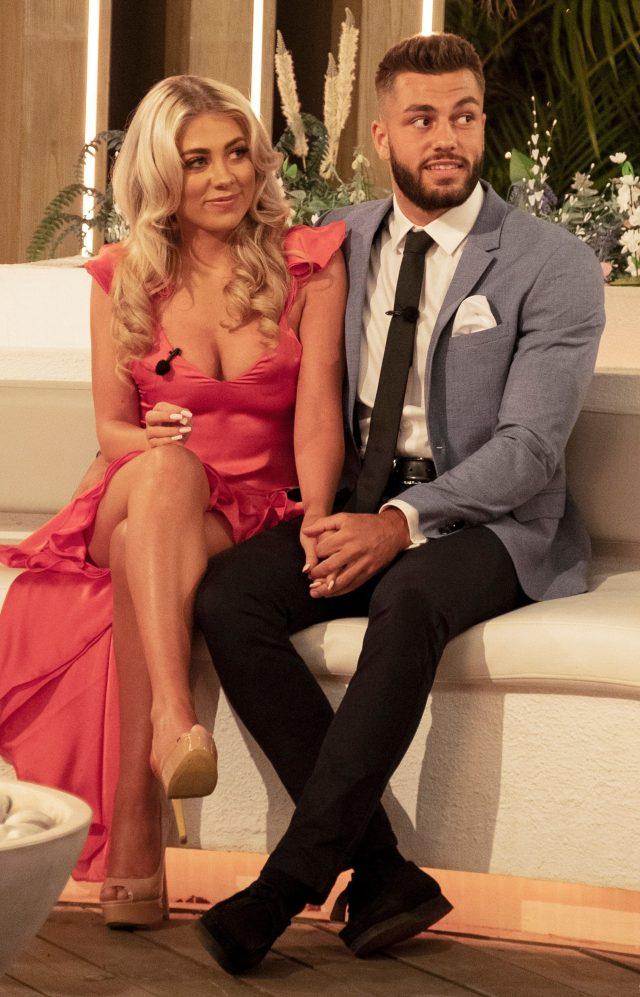 Love Island winners Paige and Finn reveal their shock at Caroline Flack ...
