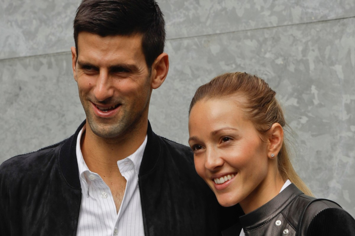 Who Is Novak Djokovic S Wife Jelena And How Many Children Does Serbian Tennis Ace Have With Her The Sun