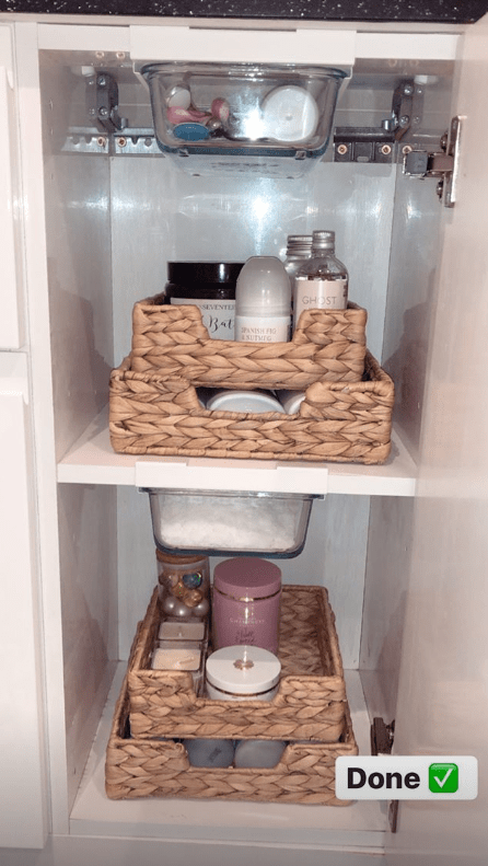 Ultra Tidy Bathroom Cabinets, Kitchen Cabinet Organisers Ikea