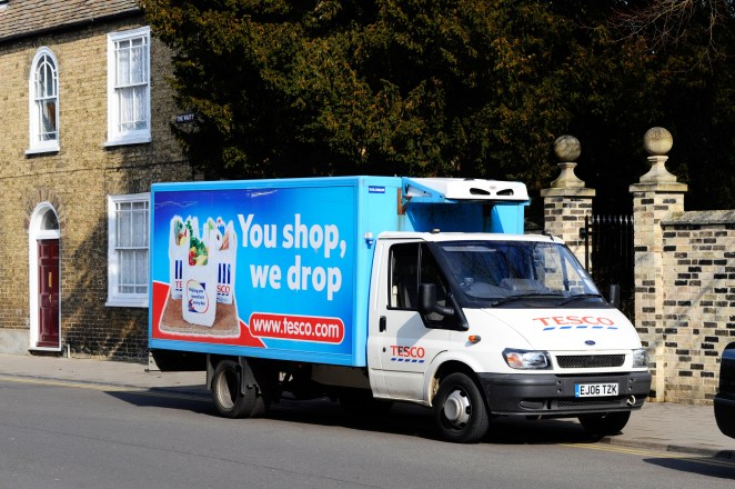 Tesco has added more click and collect delivery slots and hired more drivers