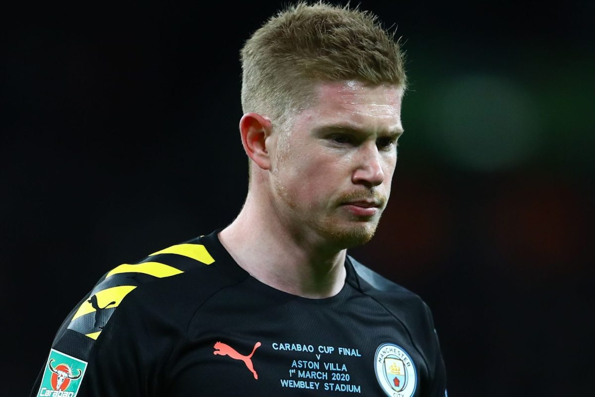 Man Utd boost with Kevin De Bruyne doubt for derby after Carabao Cup final back injury