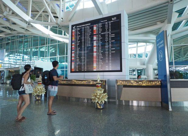尽管巴厘岛没有发生任何情况,但由于担心冠状病毒,旅游业有所减少