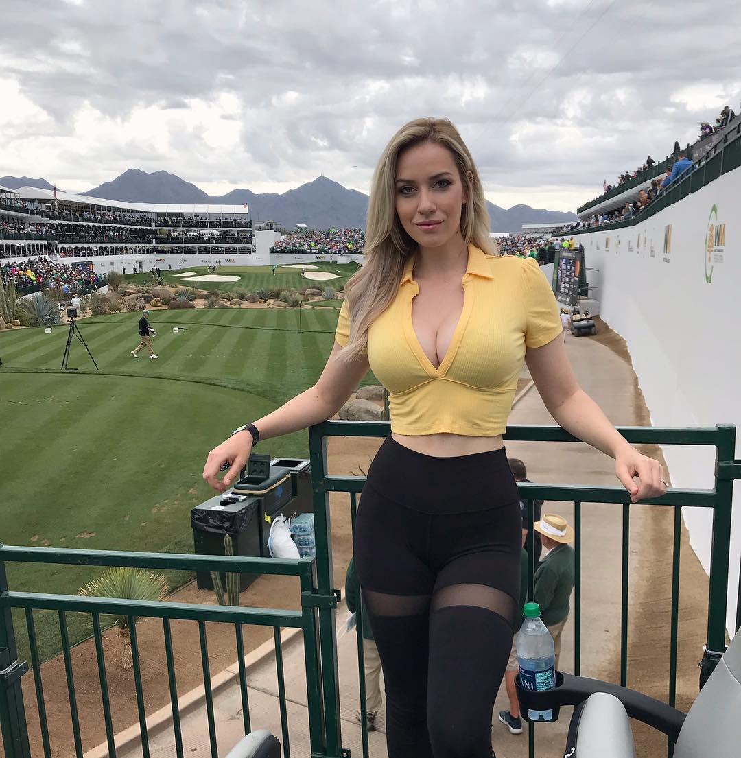 Golf beauty Paige Spiranac says she was rejected from helping a charity because of her impressive cleavage