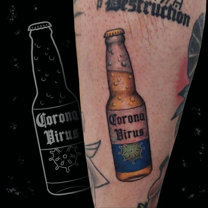 Bottoms up to this tat!