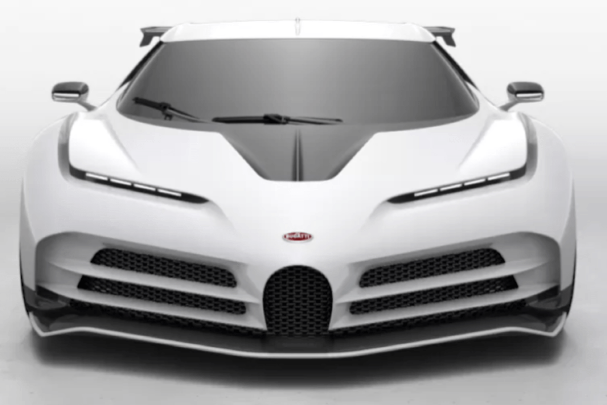 Ronaldo 'buys £8.5m Bugatti Centodieci' - with just 10 models ever created