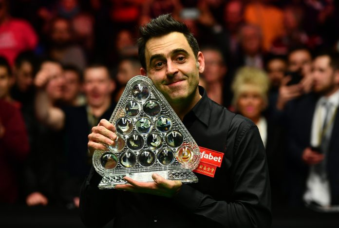 O'Sullivan continues to count down seven world titles from Stephen Hendry