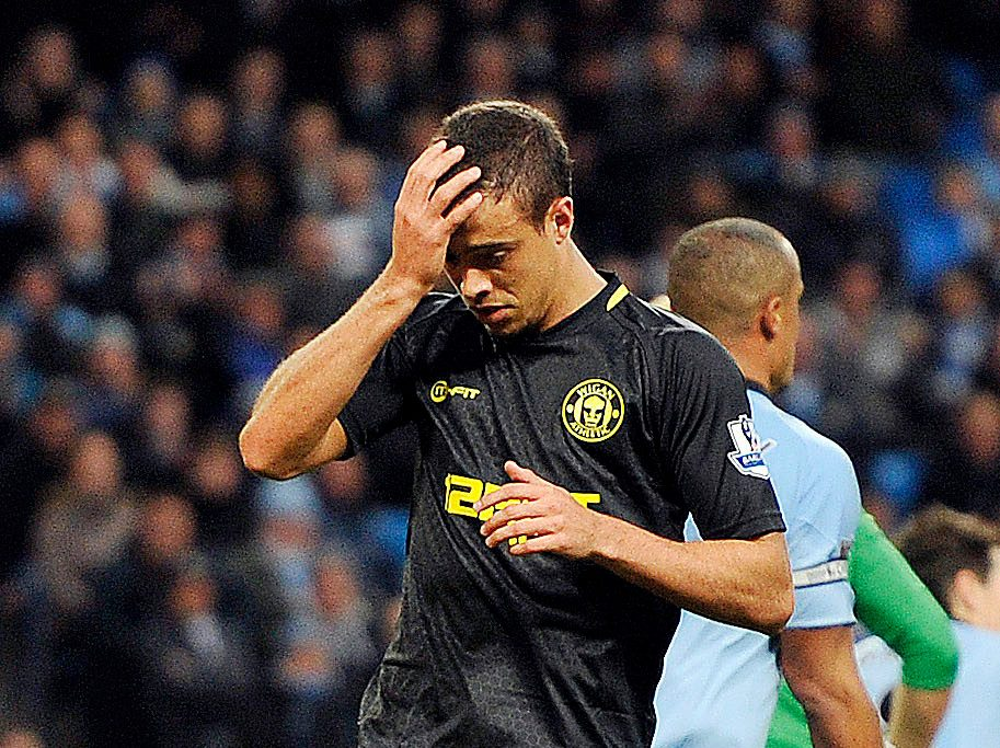 Di Santo was inconsistent at best across spells at Wigan, Blackburn and Chelsea