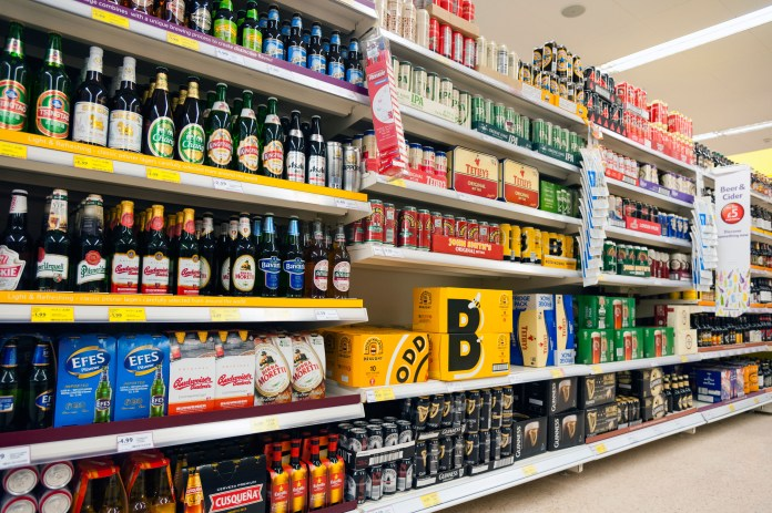 Alcohol sales in the UK increased by a third while Britons remain stranded against coronaviruses
