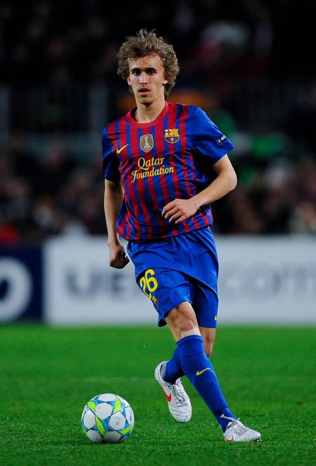 Future Stoke benchwarmer Muniesa received a Champions League medal at Barca