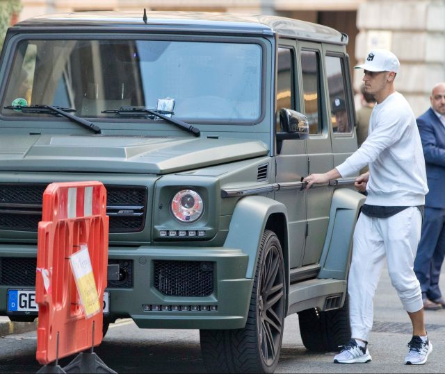 The favourite car in Ozil's car collection is his G63 AMG