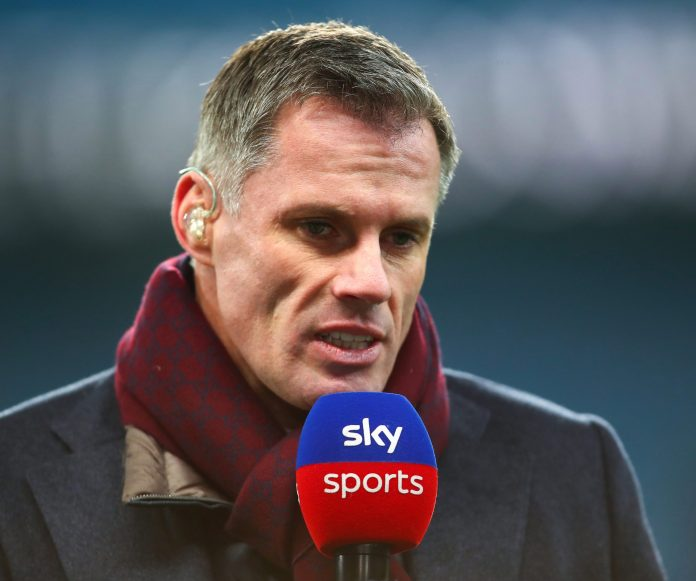 Sky specialist and former Liverpool and England defender Jamie Carragher said yesterday: