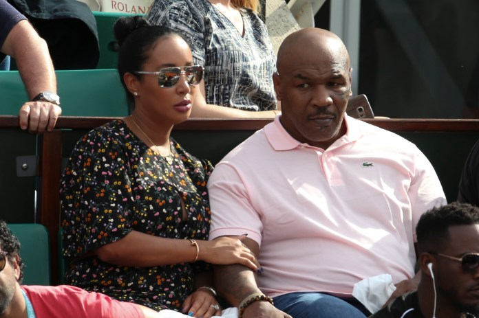 Tyson credits Kiki for coping with addiction
